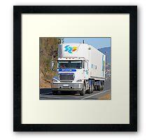 SRT Logistics - Freightliner Framed Print