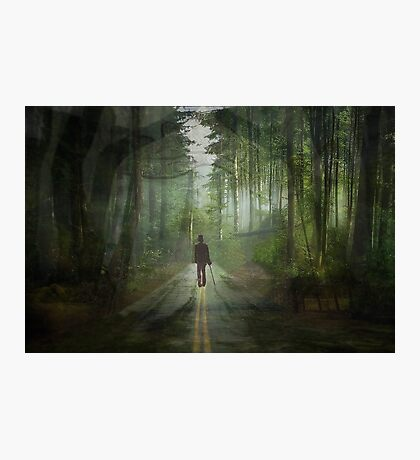 A Road to Nowhere Photographic Print