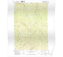 USGS Topo Map Oregon Baker Point 278919 1979 24000 Poster