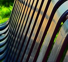Bench Abstract by Lenore Senior