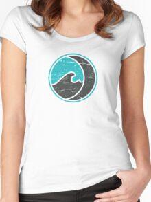 Dark Waves Women's Fitted Scoop T-Shirt
