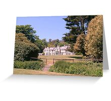 East Dene. Bonchurch, Isle of Wight, UK Greeting Card