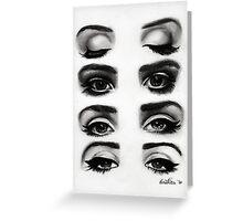 Lana del rey eyes Greeting Card