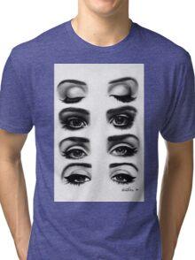 Lana del rey eyes Tri-blend T-Shirt