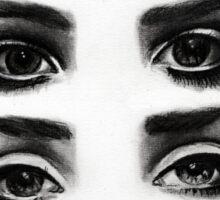 Lana del rey eyes Sticker
