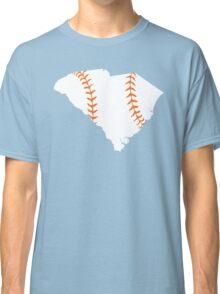South Carolina Baseball Stitch (Orange) Classic T-Shirt