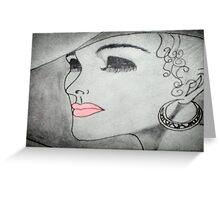 Madame ©  Greeting Card