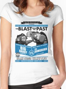 The Blast from the Past - Big Daddy vs Songbird Women's Fitted Scoop T-Shirt