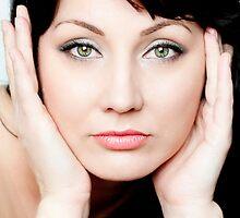 Piercing eyes by Gail  Galbraith
