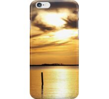 Roanoke Sunset iPhone Case/Skin