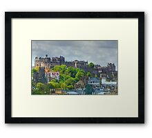 Edinburgh Castle HDR Framed Print