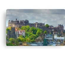 Edinburgh Castle HDR Canvas Print