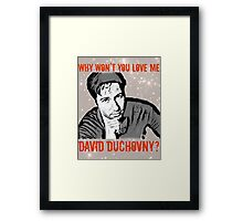 Why Wontcha Love Me Framed Print