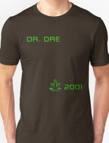 MUSIC - Dr Dre 2001 Cover T-Shirt
