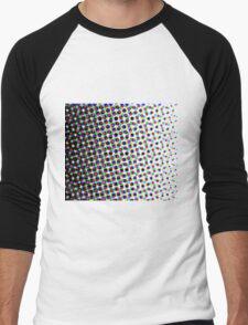 Colorful Pattern 3 Men's Baseball ¾ T-Shirt