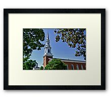Old Baptist Church Framed Print