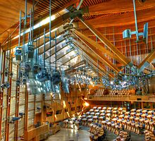 Scottish Parliament Debating Chamber by HJIrvine