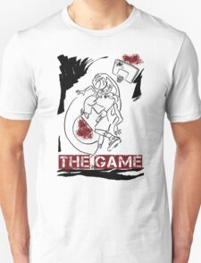 Basketball The Game Inks Black White Red T-Shirt