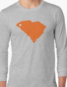 Home Sweet South Carolina (City of Clemson) Long Sleeve T-Shirt
