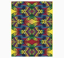 Colorful Psychedelic Pattern 2 Kids Tee