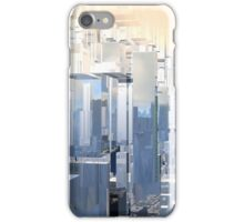 Shattered City III iPhone Case/Skin