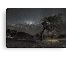 Galactic View from Planet Earth Canvas Print