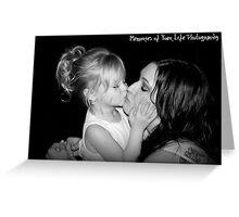 Stealing a Kiss Greeting Card