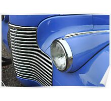 """""""Left Front Headlight and Grill"""" Poster"""