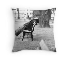 I can tune it all out... just watch me Throw Pillow