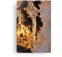 More Icicles Canvas Print
