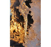 More Icicles Photographic Print
