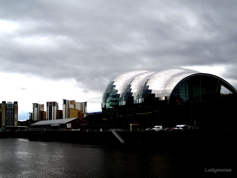 Gateshead Quay-featuring The Sage by Ladymoose