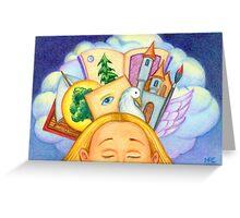 Dreamscape Greeting Card