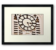 The Ripple of Time Framed Print