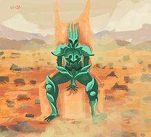 lone alien knight of mars by matintheworld
