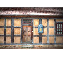 Apothecary House Photographic Print