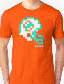 Tecmo Bowl - Miami Dolphins - 8-bit - Mini Helmet shirt Unisex T-Shirt