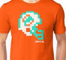 Tecmo Bowl - Miami - 8-bit - Mini Helmet shirt Unisex T-Shirt