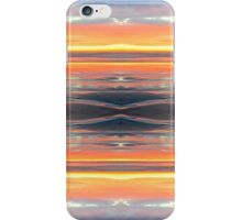 Orange Flash Pattern iPhone Case/Skin