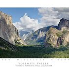 Yosemite Valley - Yosemite National Park by SometimesSilent