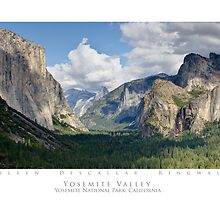 Yosemite Valley - Yosemite National Park by SometimesSilent