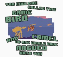 Bird VS Camel Kids Tee