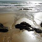 wet sand patterns by gaylene