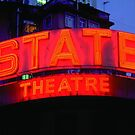 State Theater Neon Sign by magartland