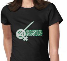 SAUDI WOMEN JASMINE REVOLUTION Womens Fitted T-Shirt