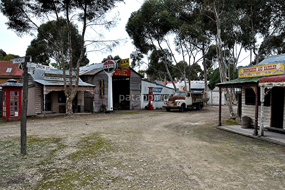 Streetscape. Old Tailem Town Pioneer Village. S.A by patapping