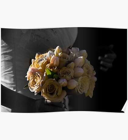 Father, Bride, Bouquet Poster