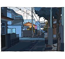 Crooked street Photographic Print