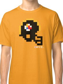 Tecmo Bowl - Pittsburgh Steelers - 8-bit - Mini Helmet shirt Classic T-Shirt
