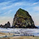 Cannon Beach Morning by TerrillWelch